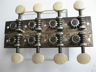 Vintage Martin Lyra Mandolin Waverly Tuners Pegs Set for Project / Repair
