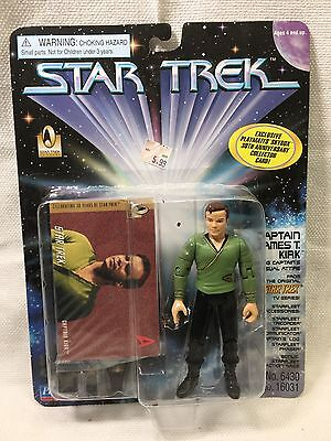 COLLECTORS STAR TREK Captain Kirk  PLAYMATES 1996 ACTION FIGURE 4""