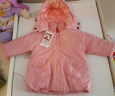Manteau fille 6 mois ORCHESTRA NEUF !
