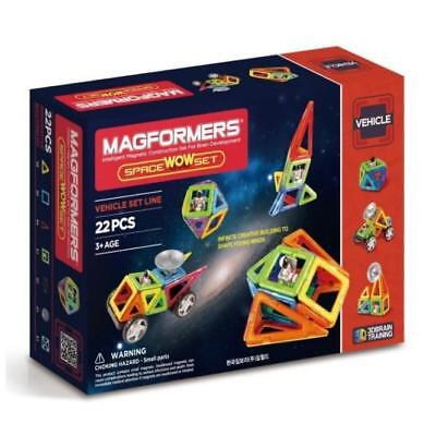 NEW Magformers - Space WOW Set Kids Childrens Toys