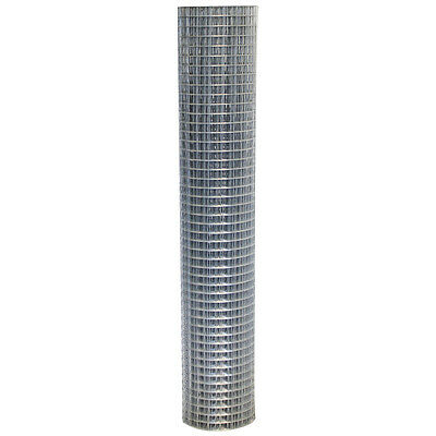 Welded Wire mesh 1.2mx10m Steel Metal Fencing Animal Protection Galvanised Fence