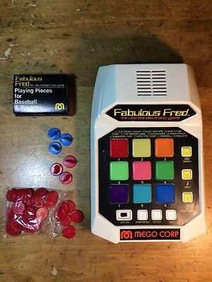 Vintage 1980 Fabulous Fred Mego Corp  Ultimate Electronic Game