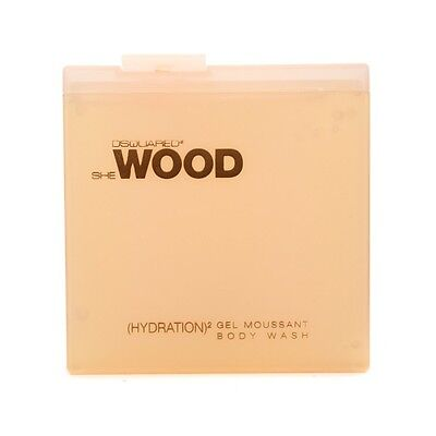 She Wood (Hydration)2 Body Wash 200ml by Dsquared2 Womens Perfume