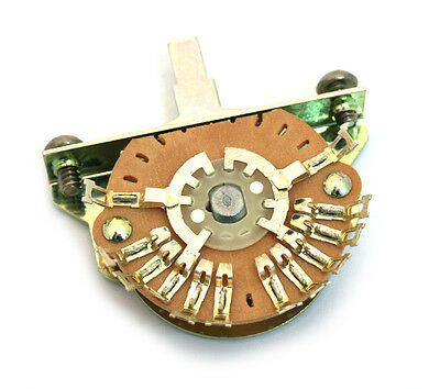 EP-0479-000 Oak Grigsby 5-Way Single Wafer Super Switch For Strat Guitar