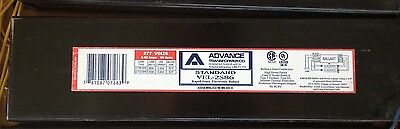 "ADVANCE  VEL-2S86 F96T8 BALLAST F96T8/HO Rapid Start. ""New out of box"""