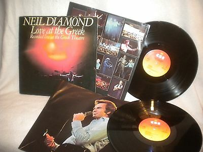 "12"" Doppel Lp Neil Diamond -- Love At The Greek ( Recorded Live )"