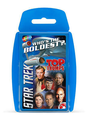 """WM - Top Trumps - Star Trek """"Who is the Boldest?"""" Card Game - Brand New"""