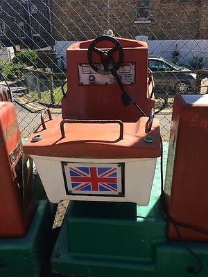 Vintage BOAT RNLI LIFEBOAT Ride For Kids Funfair Fairground Circus