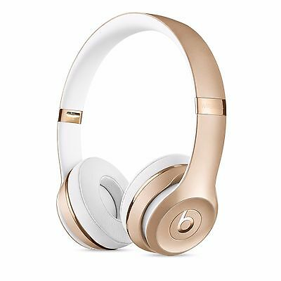 Beats By Dre Solo3 Wireless Bluetooth Headphones Gold
