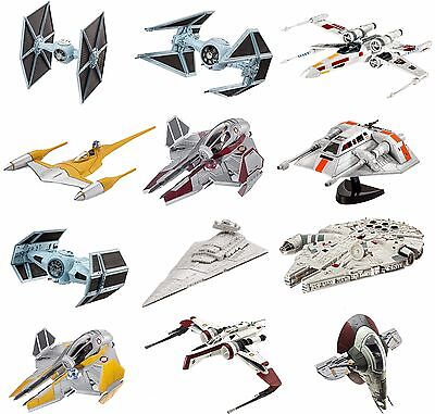 Revell Star Wars Model Kits Aircraft Millennium Falcon X-Wing Tie Fighter