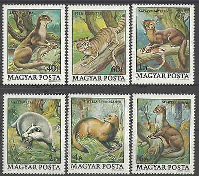 Timbres Animaux Hongrie 2690/5 ** lot 6206