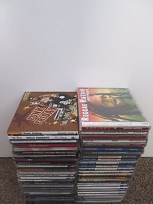 Collection 49 Music CD's Funk Soul Jazz Reggae Pop Rock Albums Compilations Lot