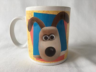 Wallace and Gromit Coffee Mug 1989 Vintage Cup Claymation Wallace & Gromit