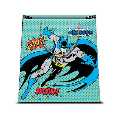 ★1 Busta In Carta Cartoncino Plastificato Shopper Dc Comics Batman 2 26 X 32★
