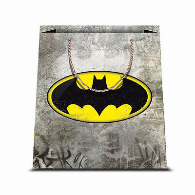 ★1 Busta In Carta Cartoncino Plastificato Shopper Dc Comics Batman 2 31,5 X 45★