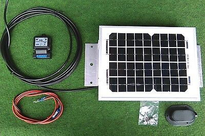 5w 5 watt solar panel + fitting kit suit camper van motorhome caravan beach hut