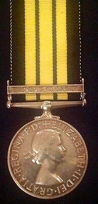 Eiir Africa General Service Medal With Kenya Clasp,pte Riddlestone,r.a.m.c