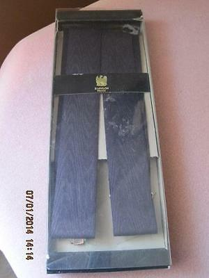 Vintage MEN'S SUSPENDERS New In Box L'AIGLON Orig $29.50 Arrow Canada