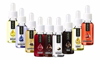 Nutriful Flavordrops Flavor Drops  (19,83€ / 100ml) Flavour Drops Geschmack