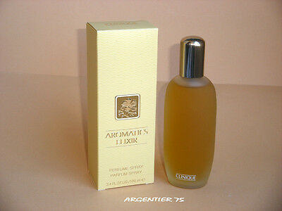 AROMATICS ELIXIR CLINIQUE     EAU DE PARFUM 100ml  SPRAY NEUF