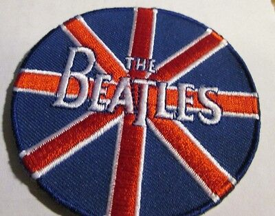 Beatles Collectible Rare Vintage Patch Embroided 2008 Metal Live