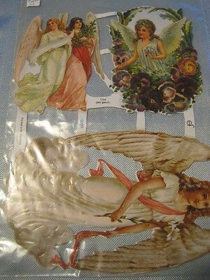 PAPER ANGELS Vintage Colored Cut Outs #1