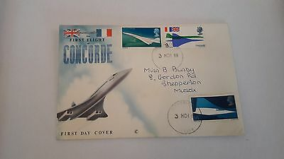 The First Flight of Concorde First Day Cover 3 March 1969