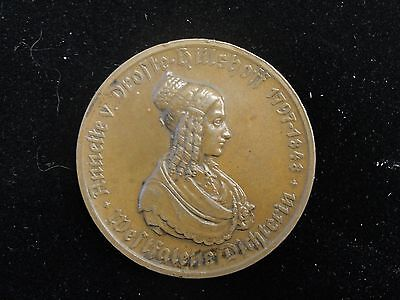 1923 Germany Westphalia 500 Mark Notgeld Bronze Coin * Looks AU *