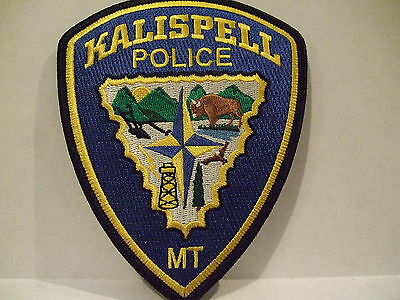 police patch   KALISPELL POLICE MONTANA