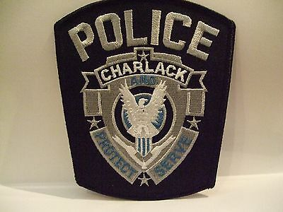 police patch  CHARLACK POLICE MISSISSIPPI