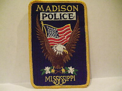 police patch  MADISON POLICE MISSISSIPPI