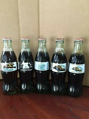 Coca-Cola Commemorative Bottles- Florida Marlins Bottles-3 Bottle Set