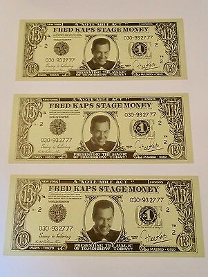 Fred Kaps Currency Scarce