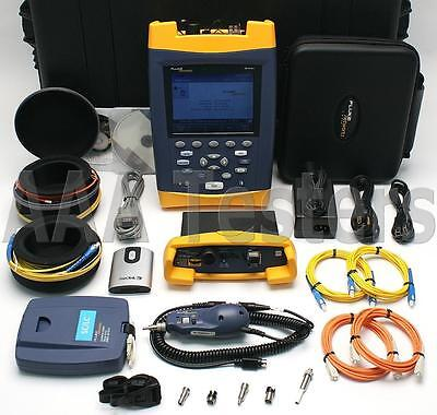 Fluke Networks OF-500 OptiFiber OFTM-5732 OFTM-5612B SM MM Fiber OTDR OF-500-MS