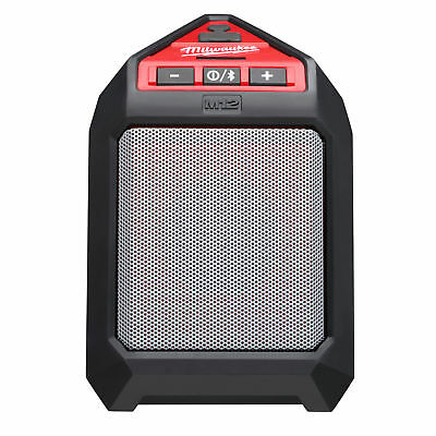 M12 Bluetooth Wireless Jobsite Speaker Milwaukee 2592-20 New
