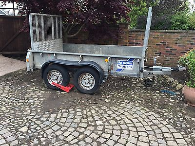 Ifor Williams 8 x 5 GD 85 G Plant Trailer - 2001