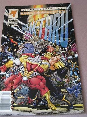ULTRAVERSE BREAK-THRU Malibu Comic Vol 1 No 2 Jan. 1994 NM