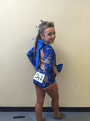 U10/12 Freestyle Slow Blue Costume
