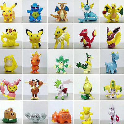 Wholesale 1/12/24 Pokemon Action Figures Toys Pikachu Monster Small Toys Gift UK