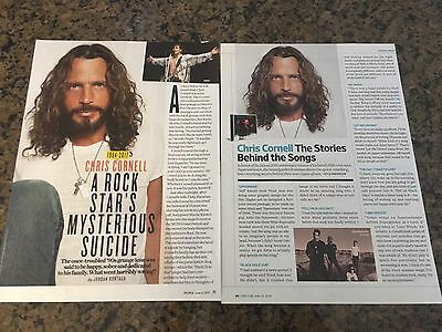 *CHRIS CORNELL* Articles! MUST SEE! L@@K