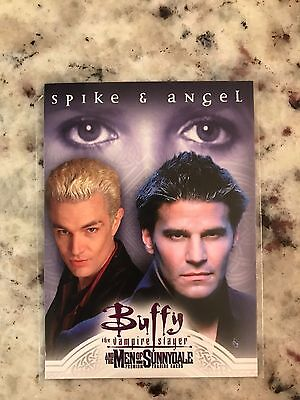 Buffy TVS Men Of Sunnydale Promo Card P-i