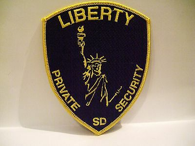 police patch   LIBERTY PRIVATE SECURITY SOUTH DAKOTA