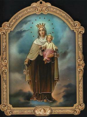 Nice Holy Mary Purgatory Picture Home Interior Decor