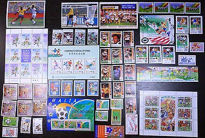 Collection, 1994 World Cup, soccer, football, MNH (11)