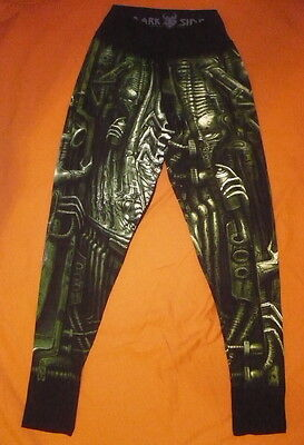 WOMEN Leggings H.R. GIGER Skulls 3 BIO MECHANICAL ALIEN PROMETHEUS