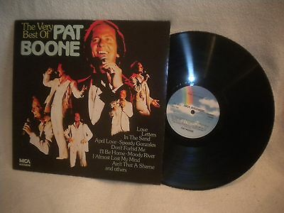 """12"""" Lp Pat Boone -- The Very Best Of"""