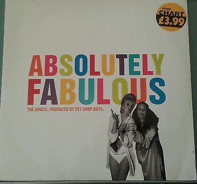 "Pet Shop Boys  Absolutely Fabulous 12""vinyl Very Good Condition"