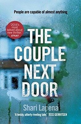 The Couple Next Door by Shari Lapena New Paperback Book 2017