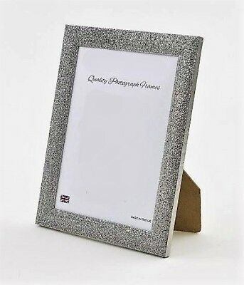 GUNMETAL/SILVER 'STARDUST' Photo/Picture Frame - Various sizes