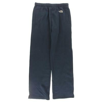 The North Face 2856 Mens Navy Fleece Logo Pull On Sweat Pants M BHFO